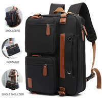 3 In 1 Multifunction Travel 17 Inch Laptop Bag Waterproof Mens Business Laptop Backpack