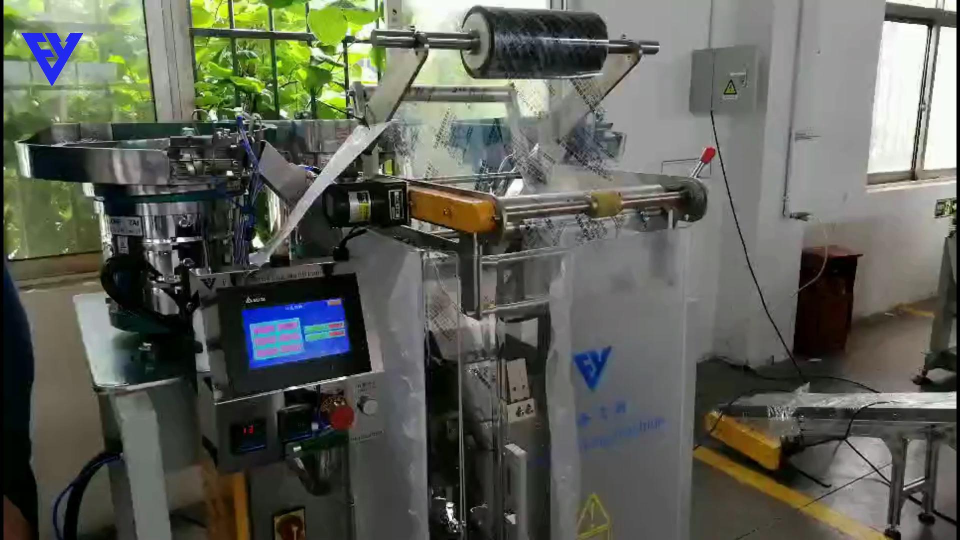 Máquina de envasado y llenado de tornillos de conteo automático rápido, de fábrica