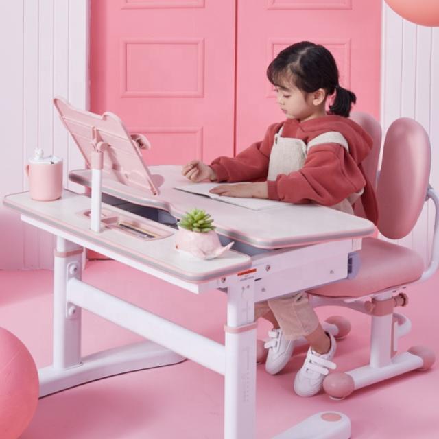 IGROW Hot Menjual Anak-anak Pendidikan Kelas Furniture Anak-anak Meja Belajar dan Kursi Set untuk Rumah