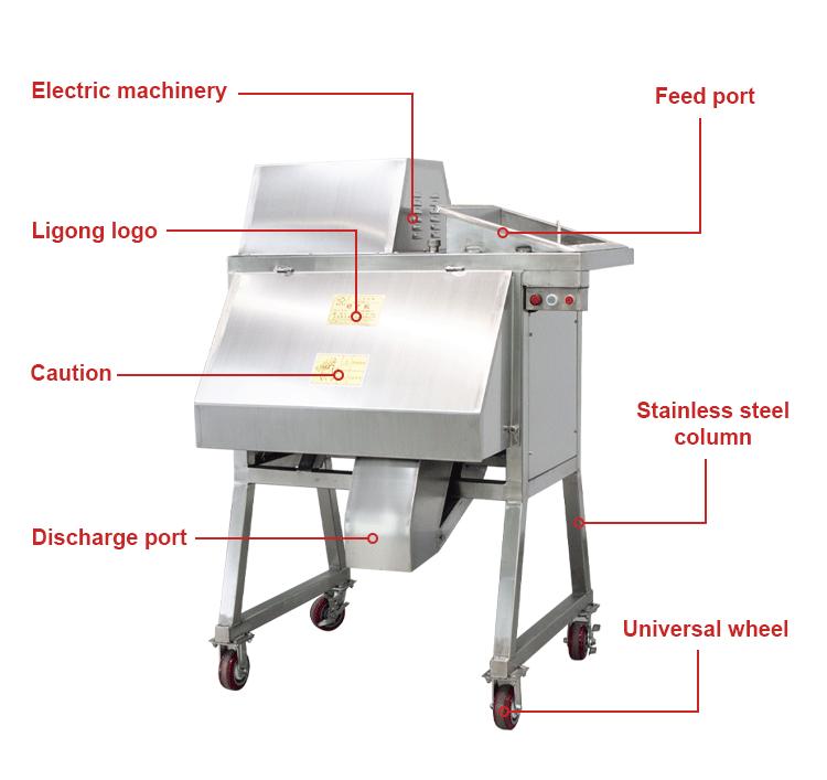 Professionele Leverancier groente-en cutter slicer shredder