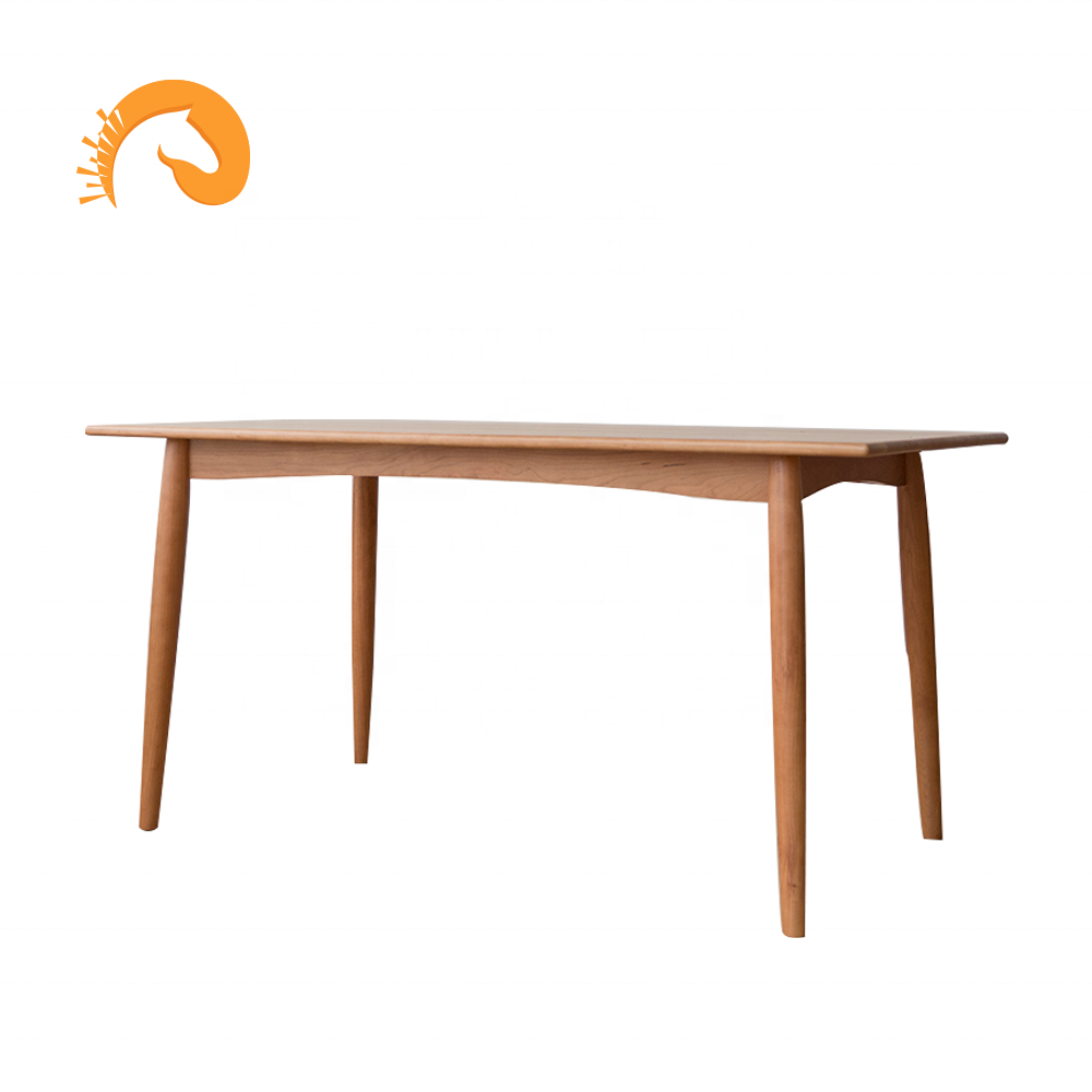 furniture nordic simple solid wood luxury cherry wood <strong>square</strong> <strong>dining</strong> <strong>table</strong> kitchen <strong>table</strong> wholesale with factory price