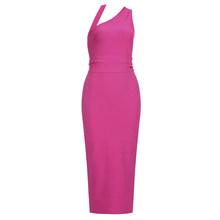 Женское облегающее платье Ailigou, розовое, красное, черное платье с поясом, вечерние платья, лето 2020(Китай)