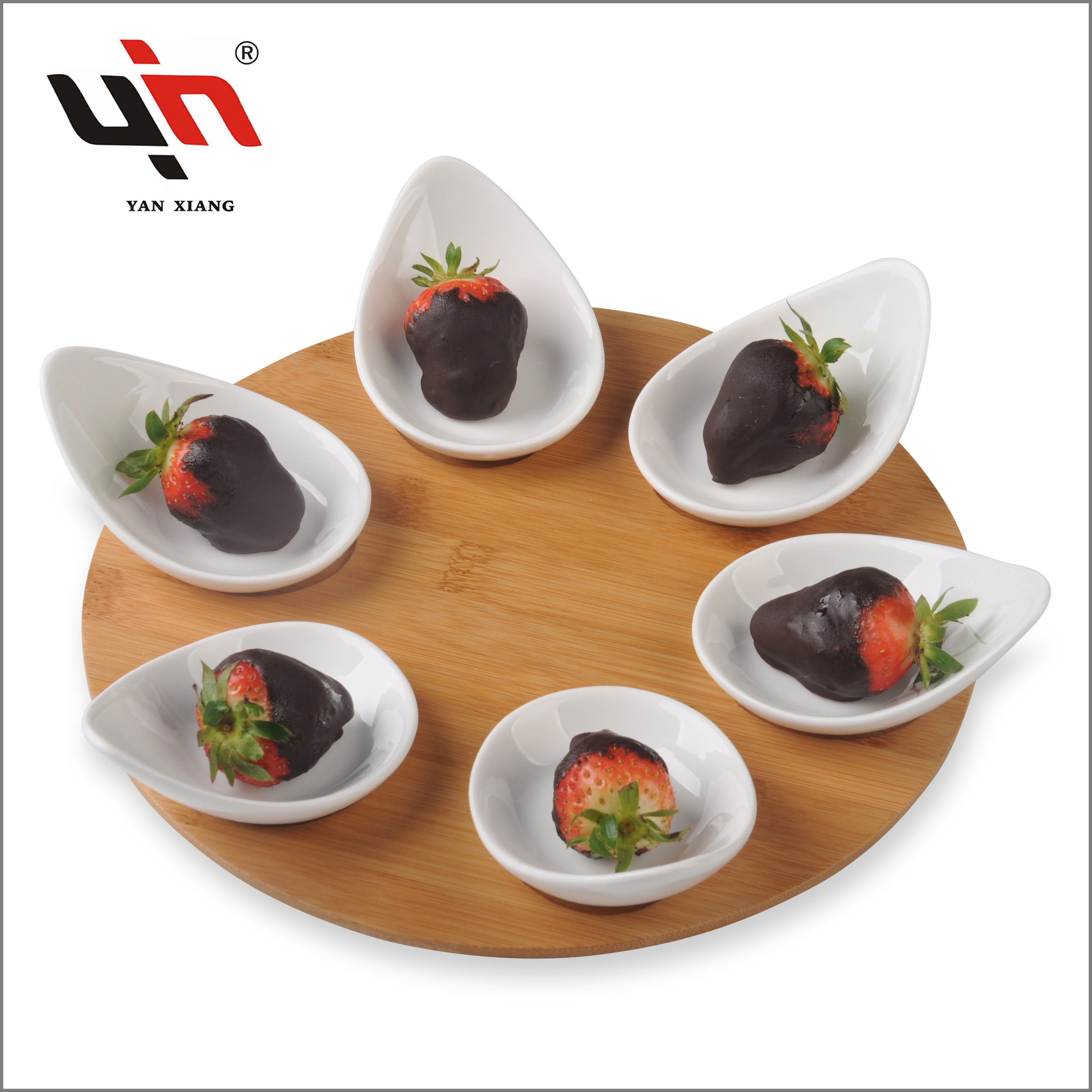2020 Promotion Bamboo plates,Wholesale ceramic plate set
