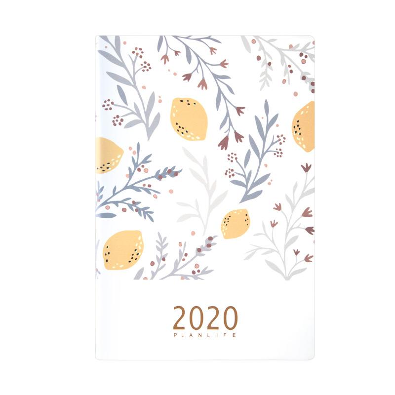Милый ежедневник 2020 Органайзер Kawaii A5 дневник записная книжка и журнал Еженедельный месяц записная книжка замечательная школьная книга для ...(Китай)