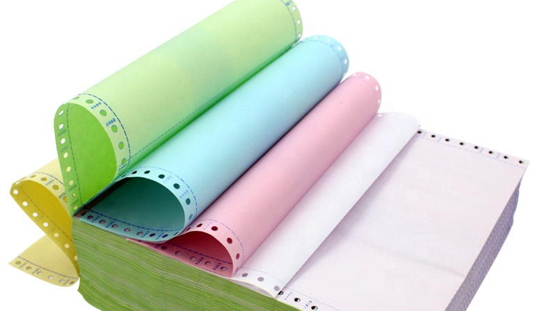 Wholesale Continuous Carbonless Computer Paper A4 Ream 9.5x5.5 6 Ply Office Printing NCR Carbonless Paper Roll