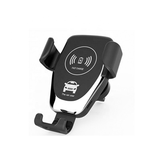 High Quality Qi Wireless Charger Fast Charging Wireless Car Phone Holder