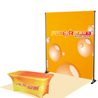 Show Exhibition Fabric Stand RTS Custom Adjustable Portable Exhibition Booth Backdrop Fabric Banner Telescopic Trade Show Display Stand