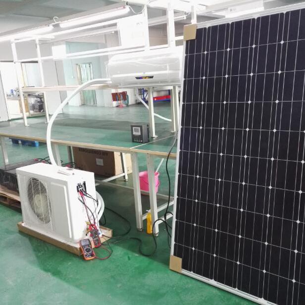 Solare condizionatore d'aria 24000 btu completo; solare ac camera condizionatori d'aria