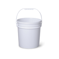 High Quality Iml In-Mold Stickers Plastic Barrel / Buckets/ Pails/ Container For Paints For Sale