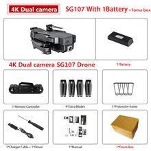 Профессиональный умный мини-Дрон с 4K WIFI 1080P FPV камерой, 2,4 ГГц, складной Квадрокоптер, оптический поток, радиоуправляемая беспилотная камера(China)