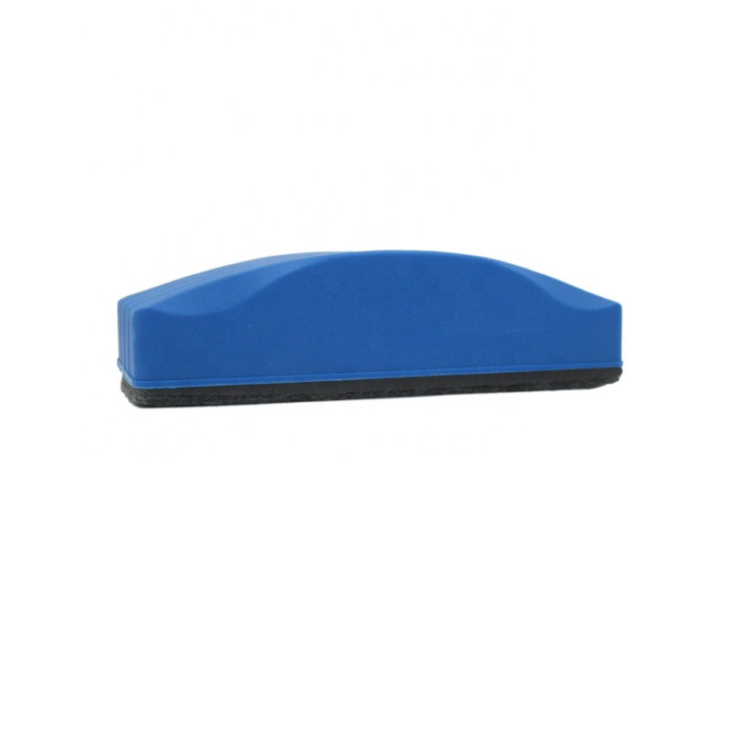 Factory cheapest price big size blue color ABS hand held magnetic board eraser - Yola WhiteBoard | szyola.net
