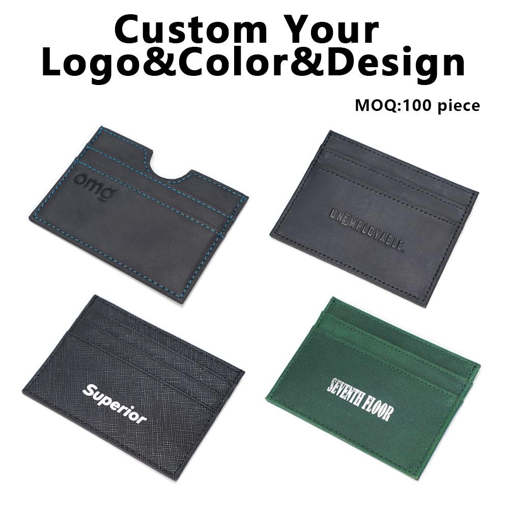 Tiding, высокое качество, индивидуальный логотип, держатель для карт, мужской кошелек, RFID, натуральная телячья кожа, тонкий держатель для кредитных карт, мужской