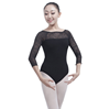 latex sexy ballet leotard high quality lace ballet leotard for women