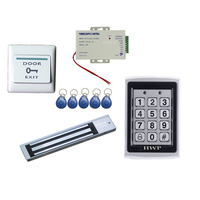 HWP-N7612+MLN280S High quality security access control door entry systems rfid door lock kit
