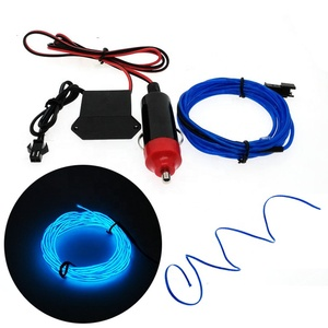 Free Replacement Portable Led Neon Cold Light El Wire For Christmas Trees