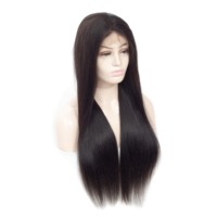 natural cheap wholesale brazilian 100% virgin cuticle aligned hair extension full lace front human hair wigs