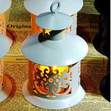 Романтические подсвечники Ретро подсвечник свадебное украшение для дома Железный художественный подсвечник металлический Waxinelicht Houder Деко...(Китай)
