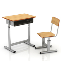 Factory cheap sale school furniture,student desk and chair table and chair school