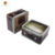 Wholesale customized cute kids bento lunch tin box with handle and lock