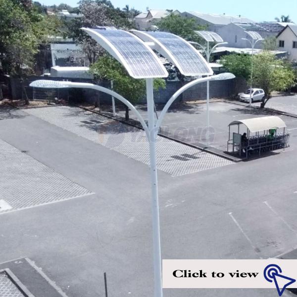aluminum garden street light pole fitting/accessories with pole