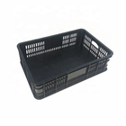 Nestable [ Plastic Crate ] Plastic Plastic Crates Cheap Durable Nestable Transport Logistics Plastic Container Storage Crate For Sale
