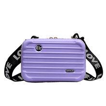 Роскошные ручные сумки для женщин 2020 новый чемодан форма сумки модный миниатюрный чемодан сумка для женщин известный бренд клатч сумка мин...(Китай)