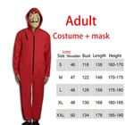 Halloween costume movie La casa de papel Salvador dali adult for party cosplay costume