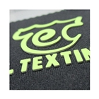 Washable Customized Embossed Label Sticker Heat Transfer Print Stamping