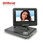 Portable DVD Player with LED screen and TV tuner/Card
