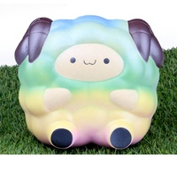 mini 2020 kawaii sheep pu squishy toy