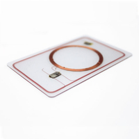 PVC Contactless Chip Card with Hico Magnetic Stripe