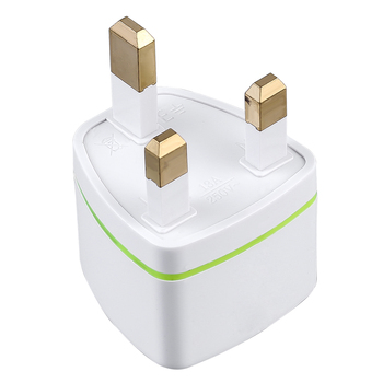 Universal US EU AU to UK Converter Travel Adapter Multifunctional AC Charger Conversion Plug