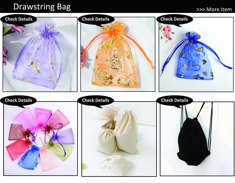 25 colores 8 tamaños en stock personalizado promocional pequeño paquete bolsas bolsa con cordón de malla