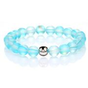 High Quality Women Men Colorful Hand Beads Natural Stone Healing Chakra Yoga Bracelet Jewelry