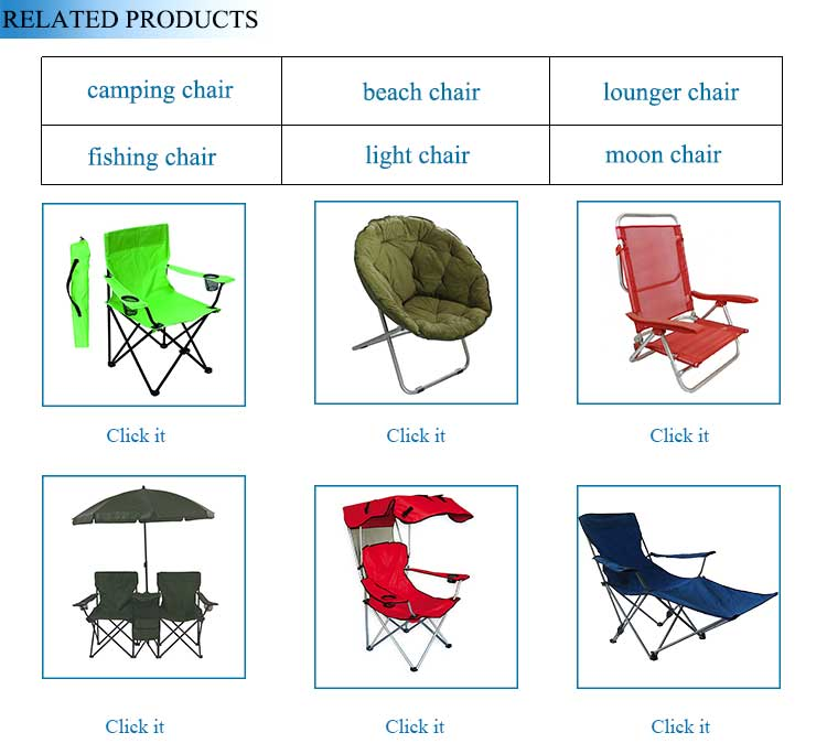 Cheap Beach Outdoor Hiker Fishing Recliner Camping Metal Rocking Folding Chair