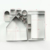 Hot sales 10 pcs 3D stainless steel Christmas cookie cutter set