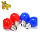 New Product Party Supply Favor LED Flashing Glowing Jumbo Ball Earrings