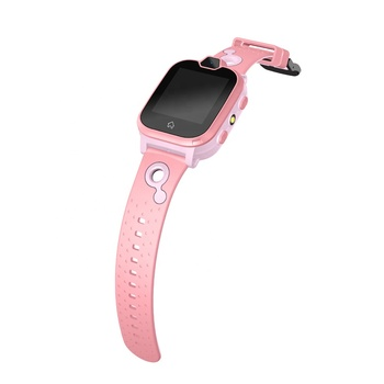 OEM ODM Project Qualcomm CPU MSM8909 Video Call 4G GPS Smart Watch for Kid