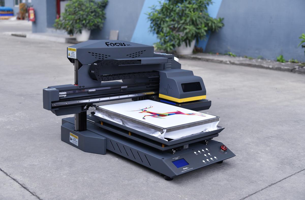 Focusinc A3 Size Digitale Stof Dtg Drukmachine T-shirts Printer