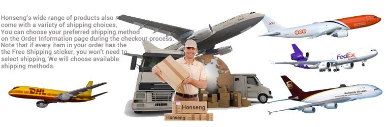 Customized Lanyards Shipping