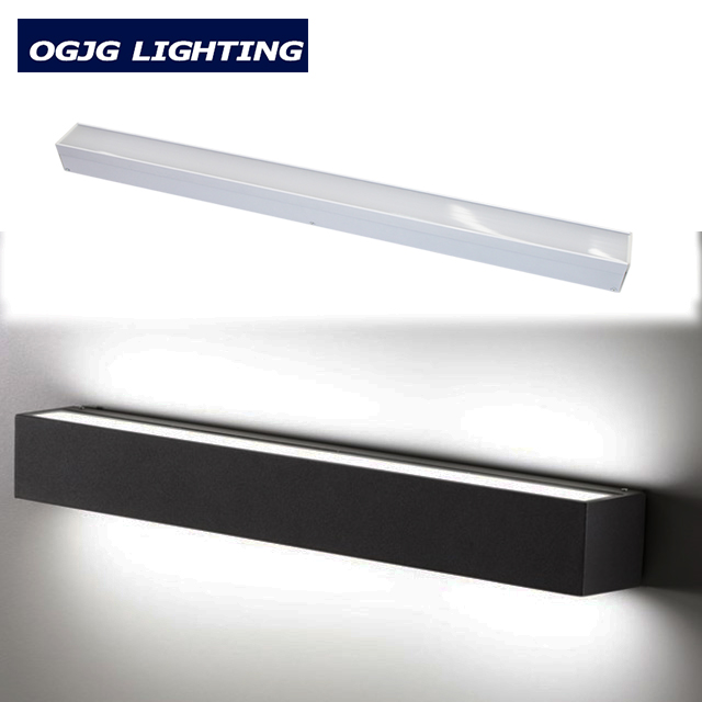 OGJG Custom Solution ETL cETL 4FT 5FT 8FT Dimmable Wall UP and Down Indoor Lighting Fixture LED Linear Light