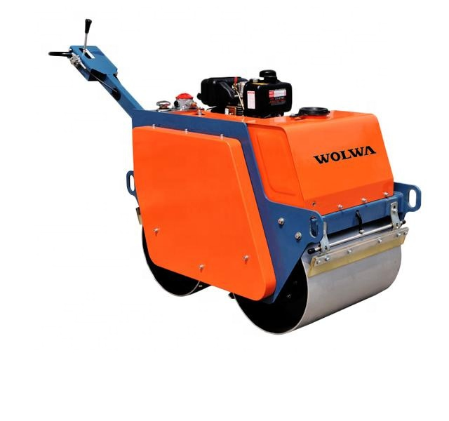 walk behind double drum vibratory road roller from china manufacturer