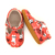 Ready to ship Christmas T-bar baby shoes factory direct festival leather toddle shoes.