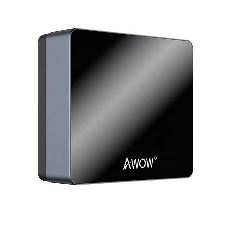 Vente chaude 6G RAM 128G SSD Intel Apollo Lake N3450 Windows 10 Mini pc Embarqué Ordinateur de bureau pour bureau à la maison