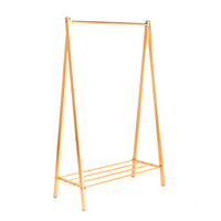 Gold Clothing Rack Metal Multi-Function Clothes Rack For Sale