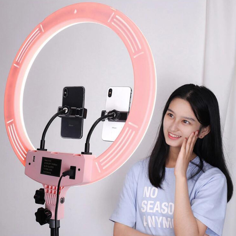 "18""/48cm Outer 55W 5500K Dimmable Ring Light Led Photography With Tripod Stand"