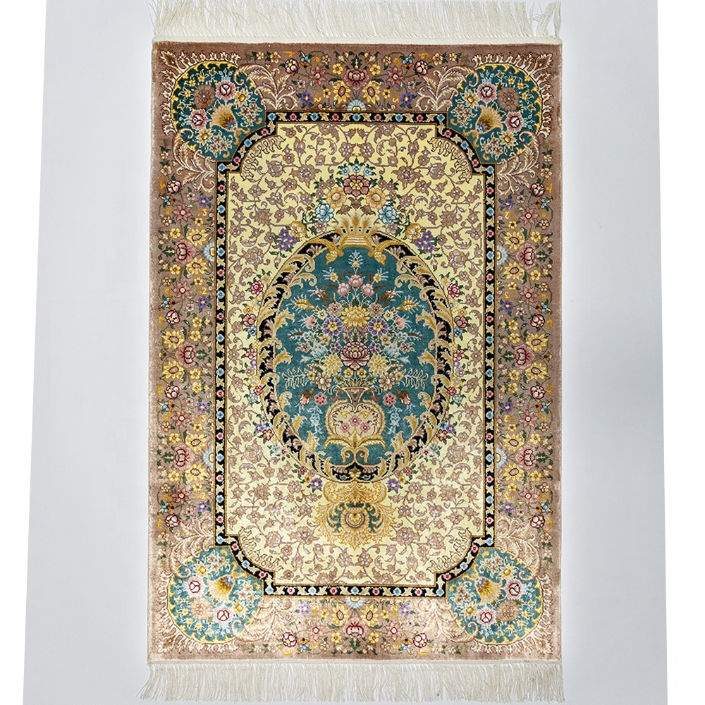 China factory 100% handmade silk persian carpets with best price