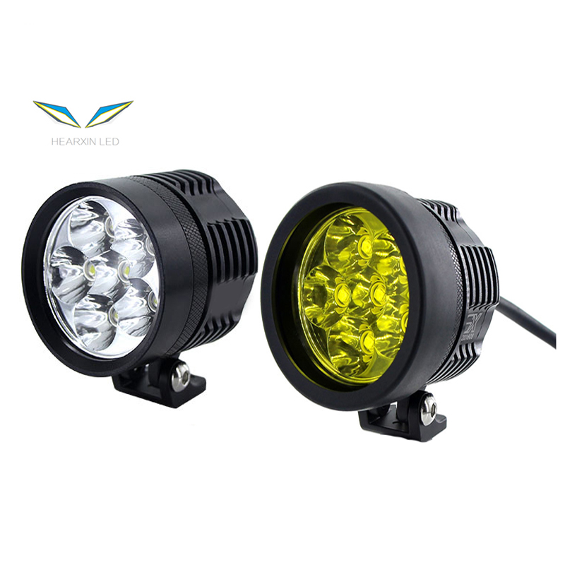L6X New 3 Model Moto White Yellow 15600LM LED Motorcycle Headlight Fog Spot HeadLamp Spotlight Waterproof Motorbike Bulb