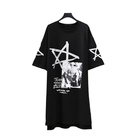 Wholesale Women Clothing Star Pattern Print t-shirt dress for Women