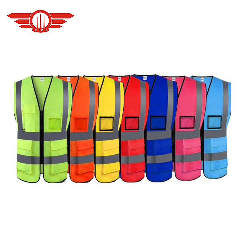 reflective safety <strong>vest</strong> with pocket white black purple blue <strong>orange</strong> pink safety <strong>vest</strong> 3 m